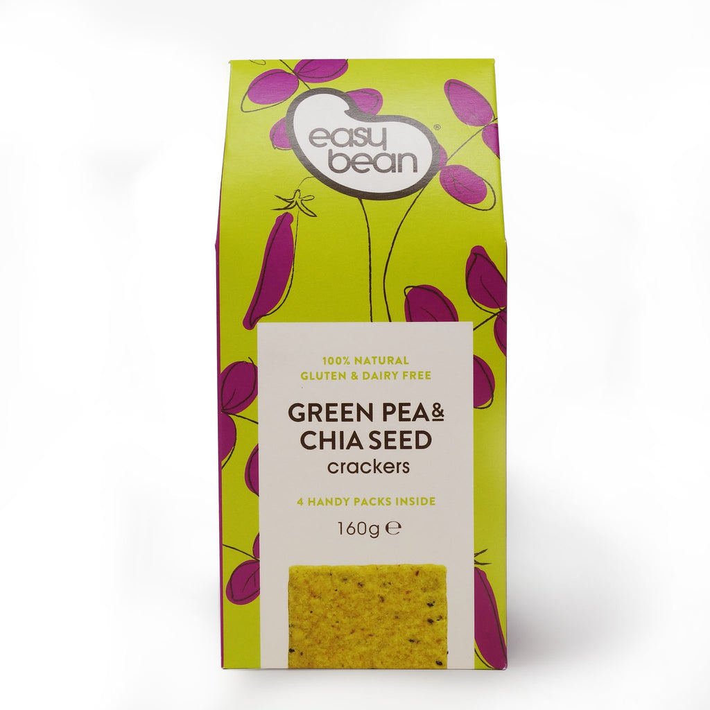 Easy Bean - Green Pea & Chia Seed Cracker