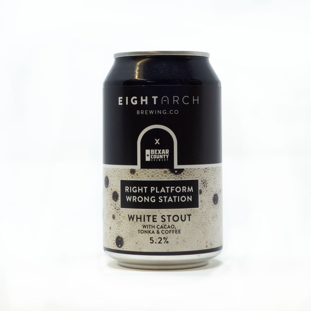 Eight Arch Brewery - Right Platform Wrong Station White Stout