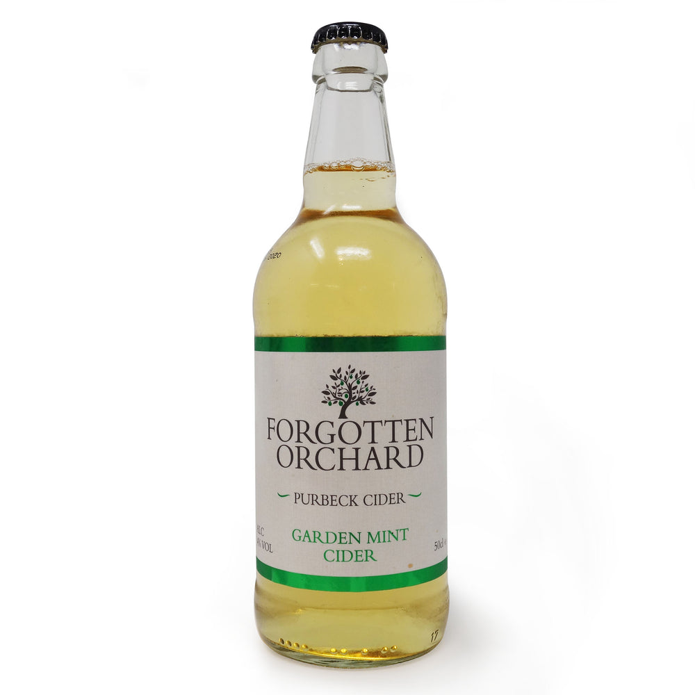 Purbeck Cider Co - Forgotten Orchard Garden Mint 500ml Bottle