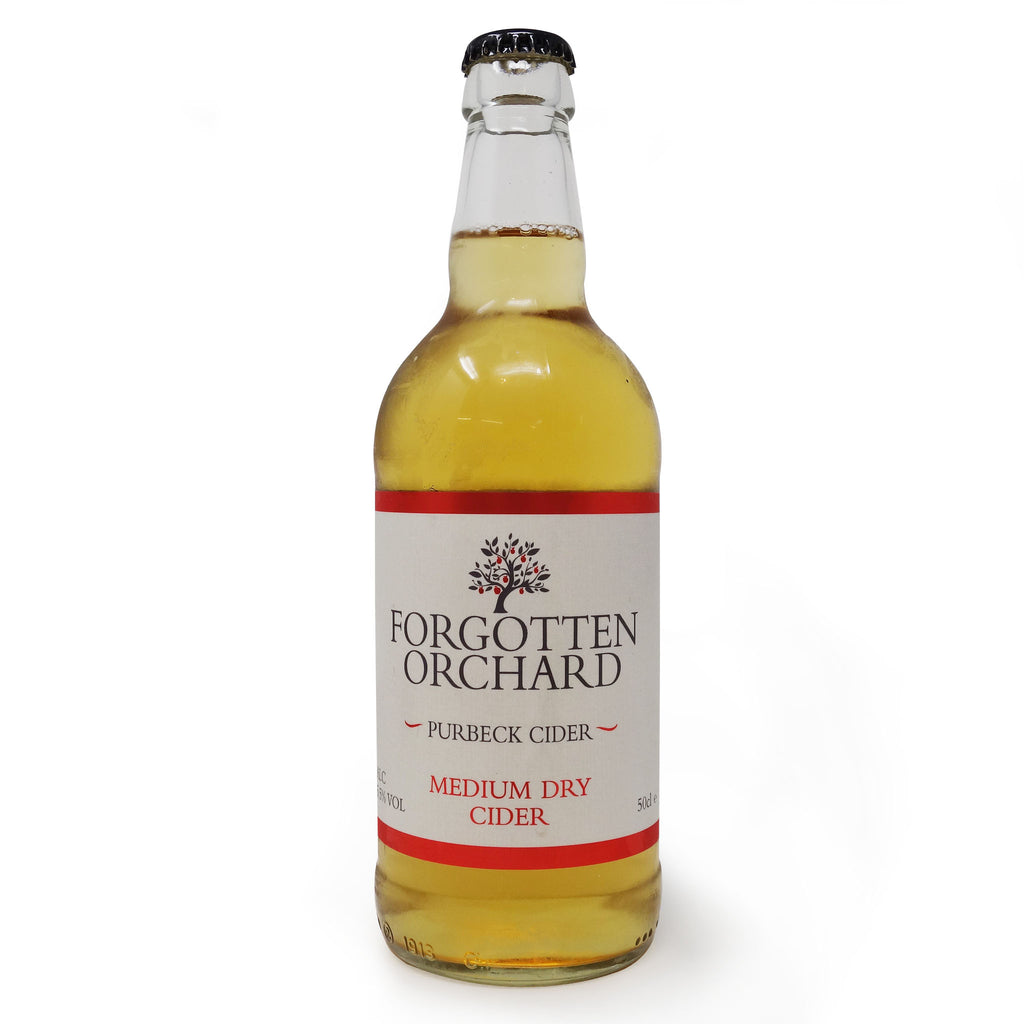 Purbeck Cider Co - Forgotten Orchard Medium Dry 500ml Bottle