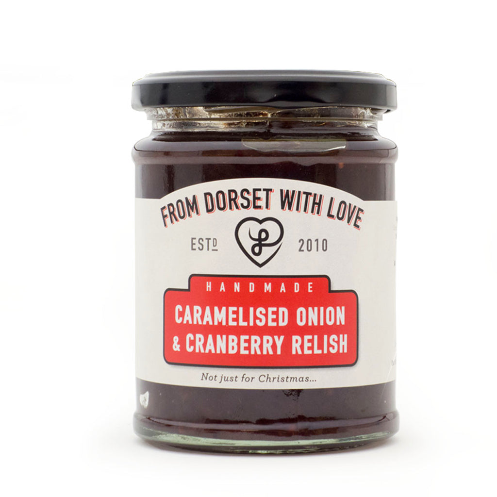 From Dorset With Love - Caramelised Onion & Cranberry Relish