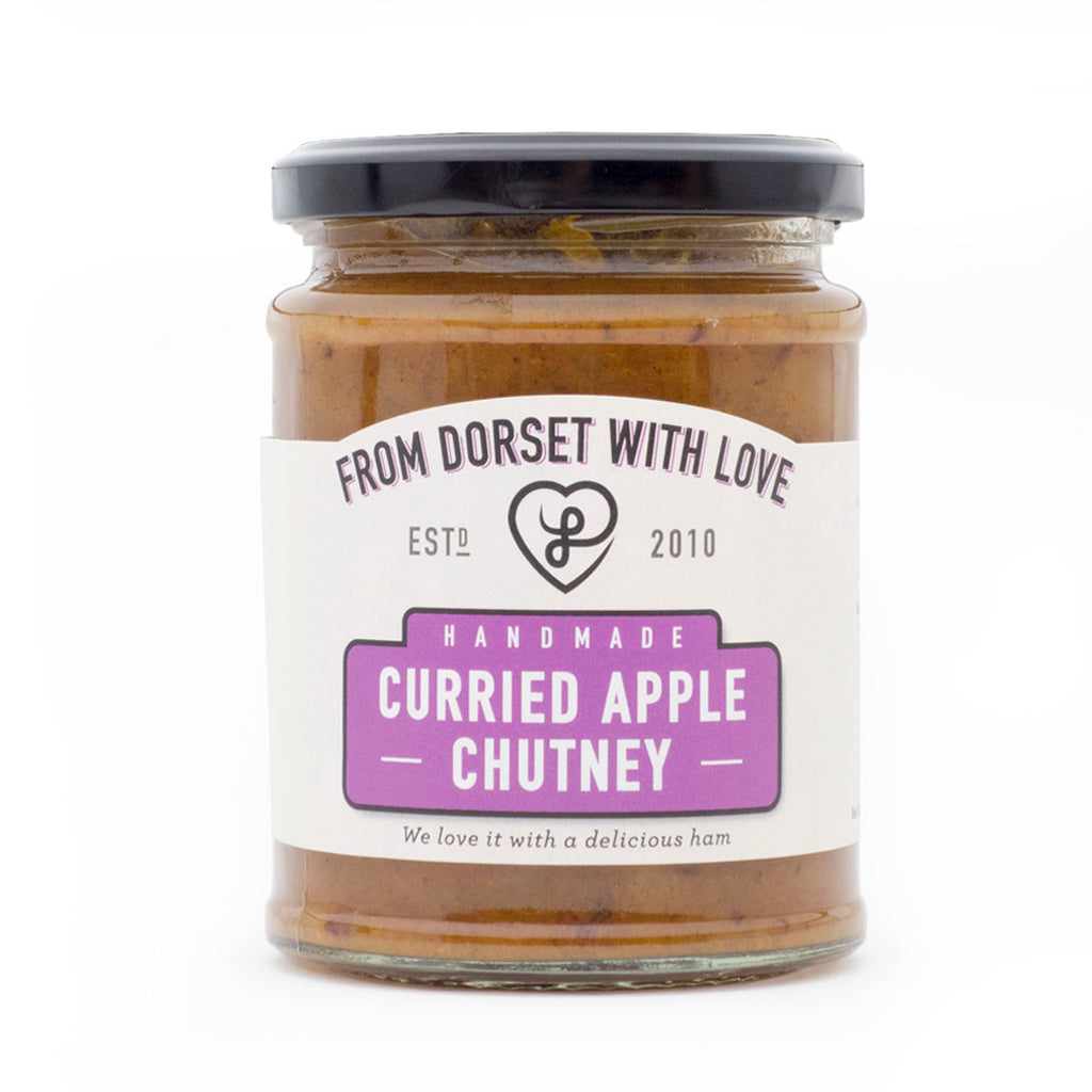 From Dorset With Love - Curried Apple Chutney