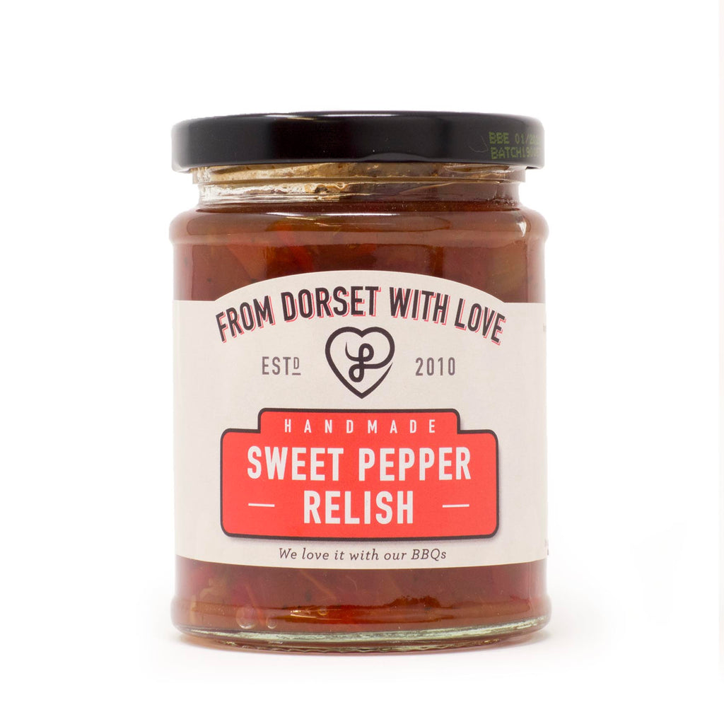 From Dorset With Love - Sweet Pepper Relish