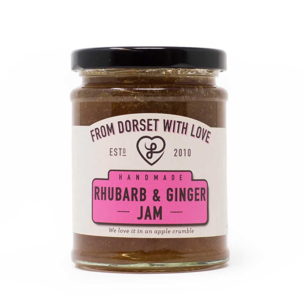 From Dorset with Love - Rhubarb & Ginger Jam