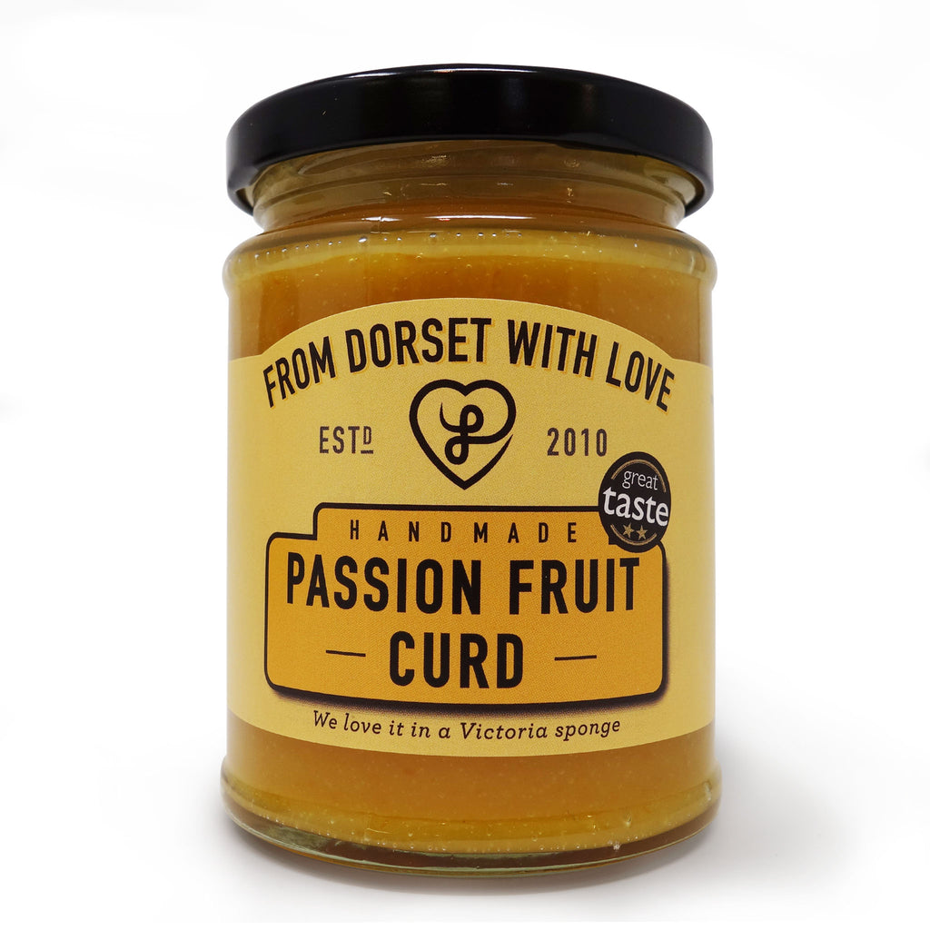 From Dorset With Love - Passion Fruit Curd