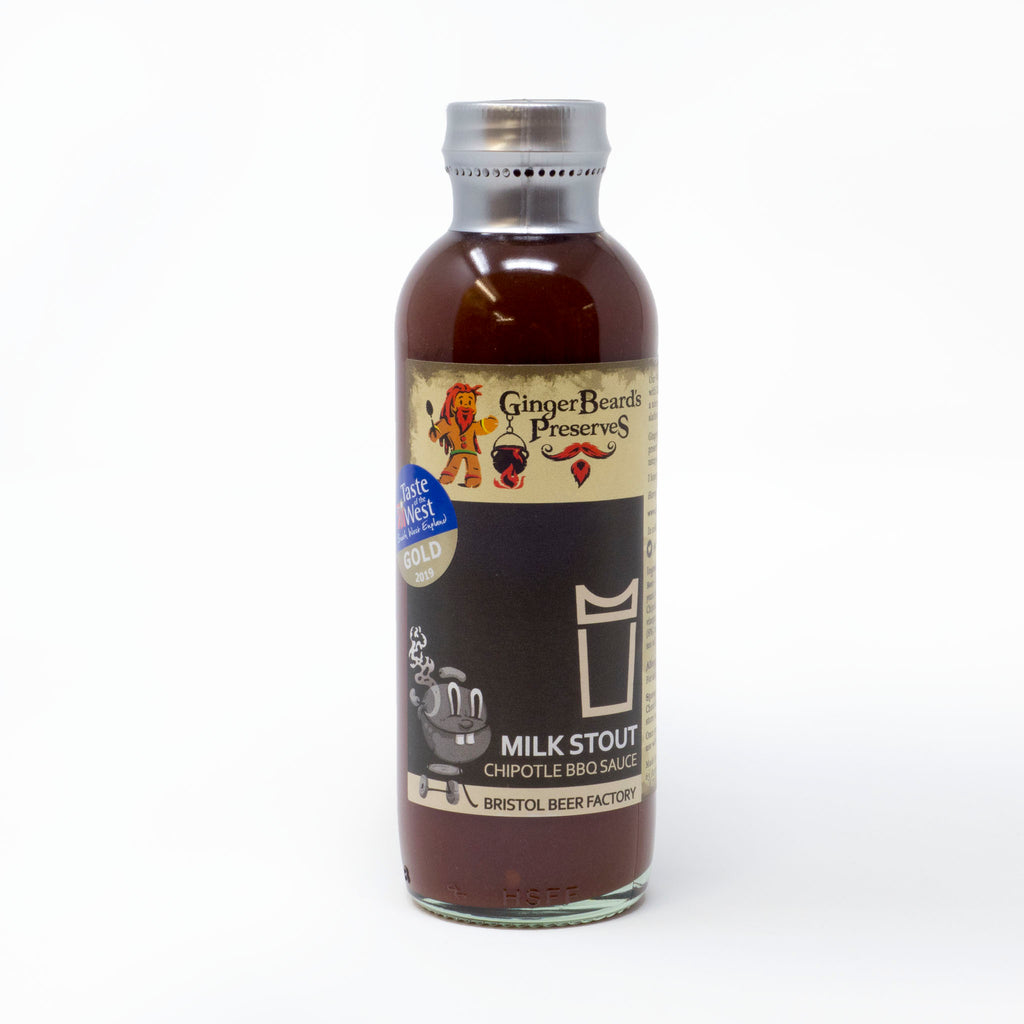 Ginger Beard's Preserves - Milk Stout Chipotle BBQ Sauce 240ml