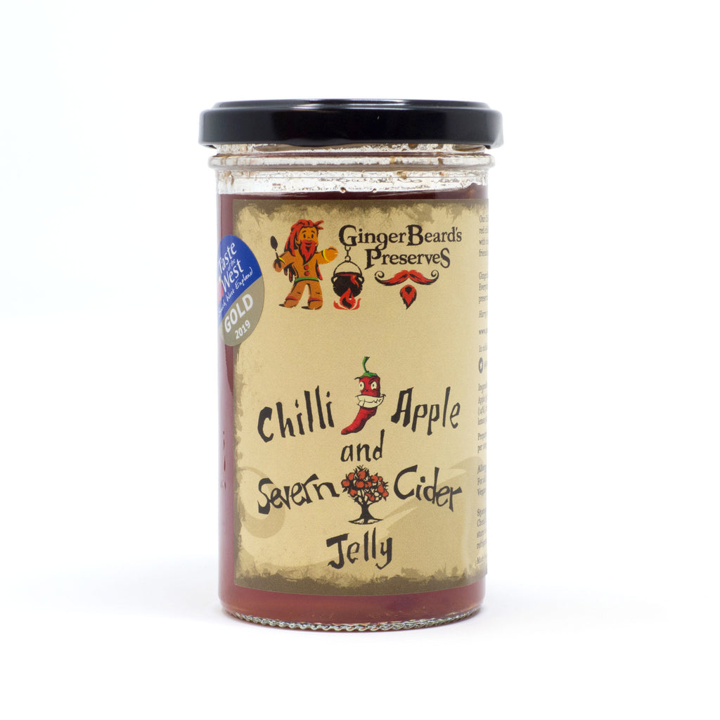 Ginger Beard's Preserves - Chilli Apple & Severn Cider Jelly 284g