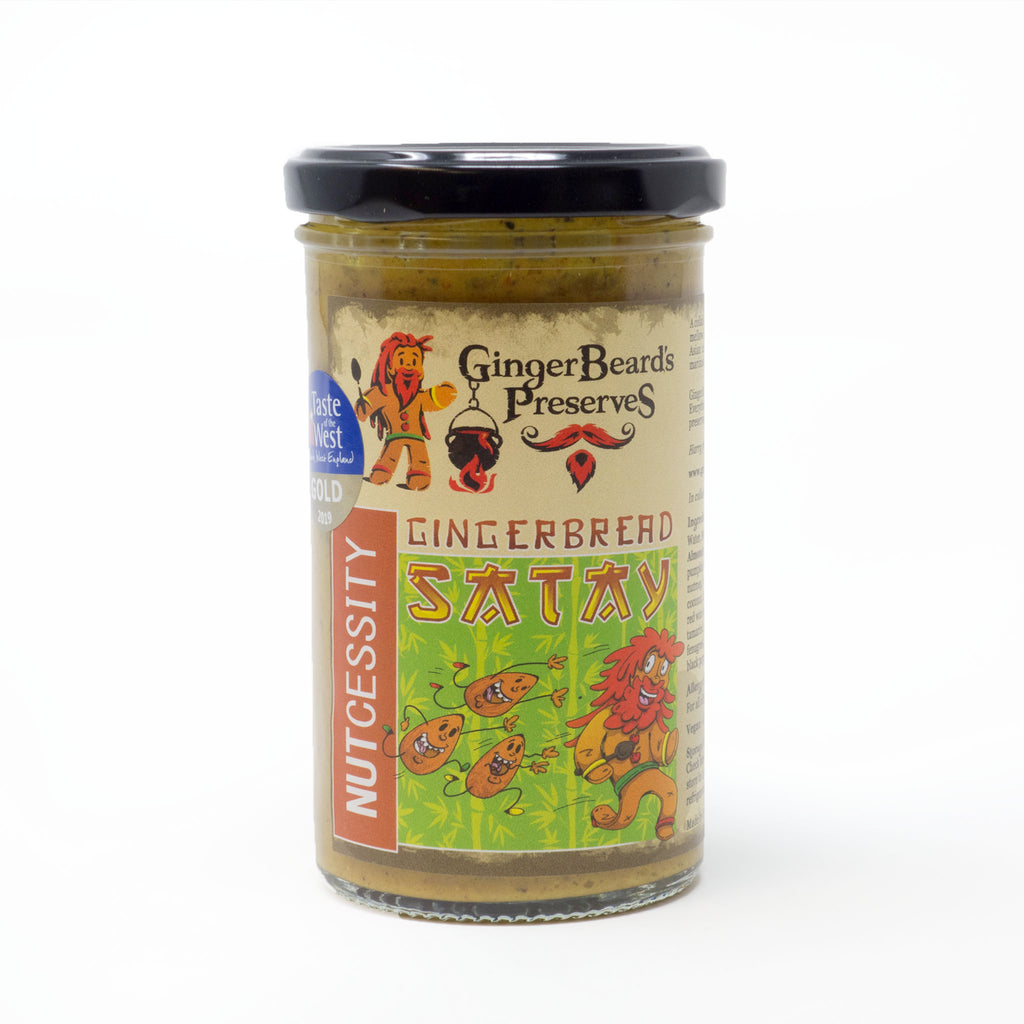Ginger Beard's Preserves - Gingerbread Satay 284g