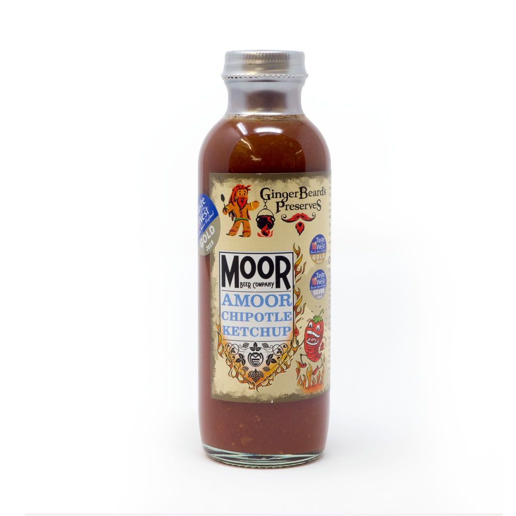 Ginger Beard's Preserves - Moor Amoor Chipotle Ketchup 240ml