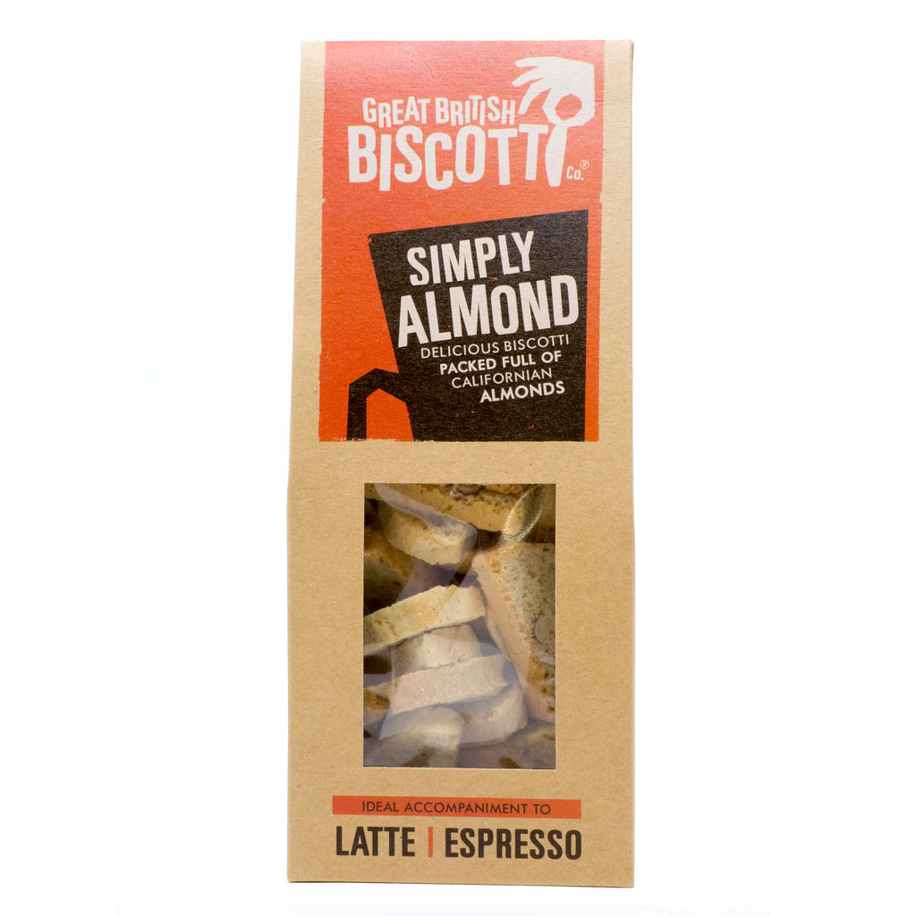 Great British Biscotti - Simply Almond Sweet Biscotti