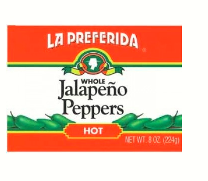 Hot Headz - Whole Jalapeno Peppers