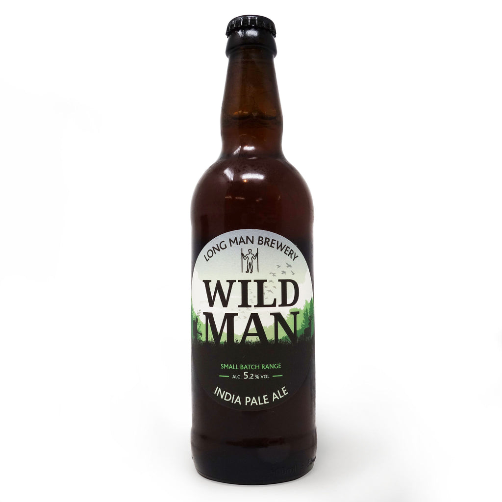 Long Man Brewery - Wild Man IPA 500ml Bottle