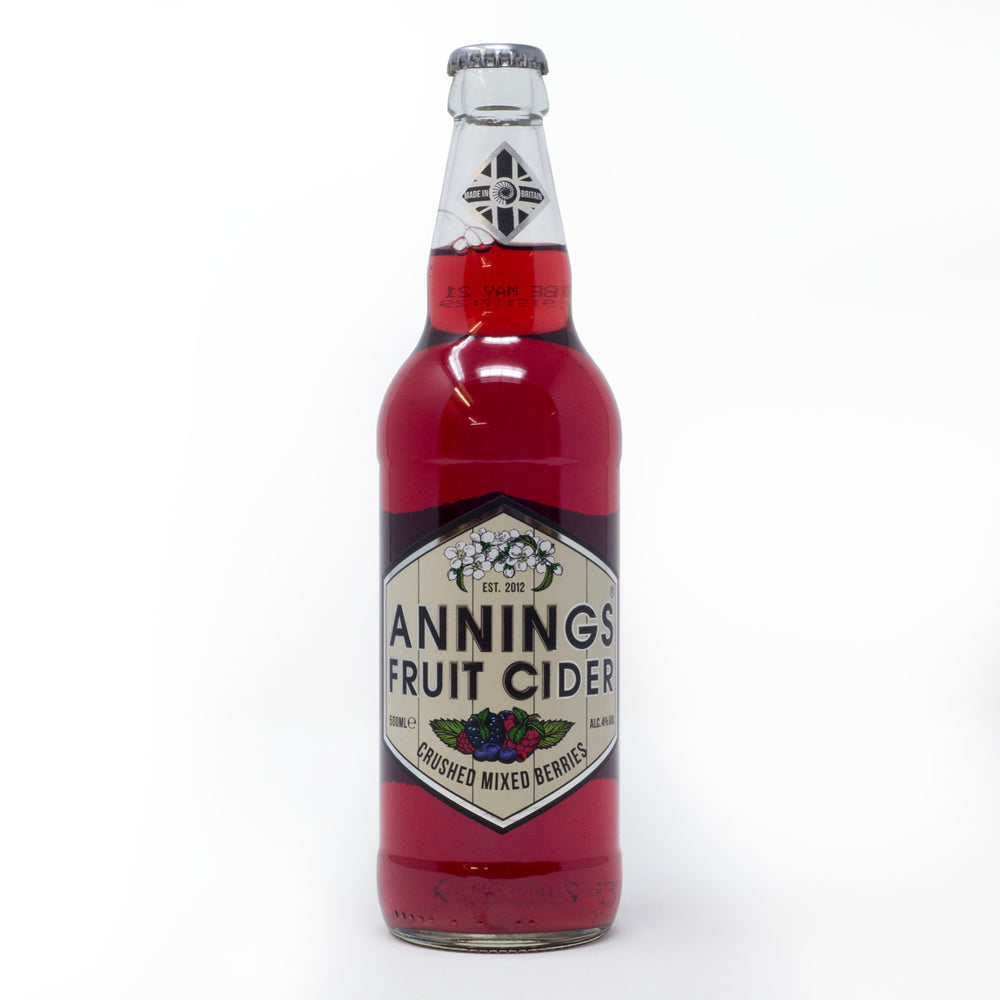 Lyme Bay Winery - Annings Fruit Cider Mixed Berry