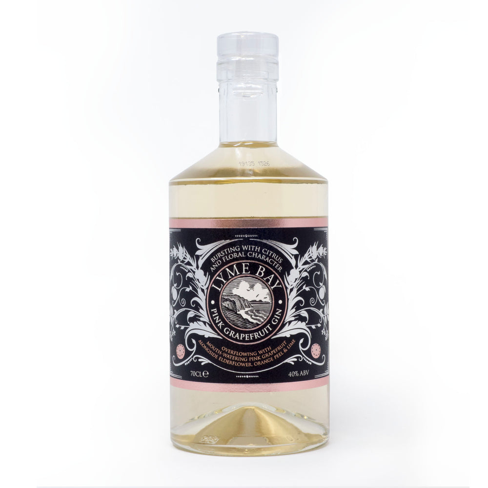 Lyme Bay Winery - Pink Grapefruit Gin 70cl