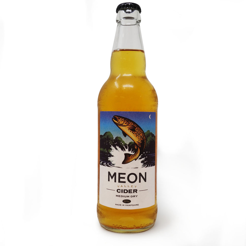 Meon Valley - Brown Trout Medium Dry 6% 500ml Bottle