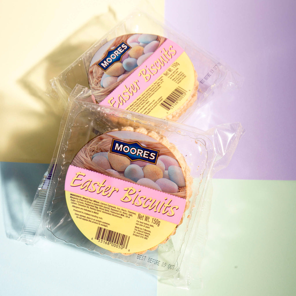 Moores Biscuits - Easter Biscuits