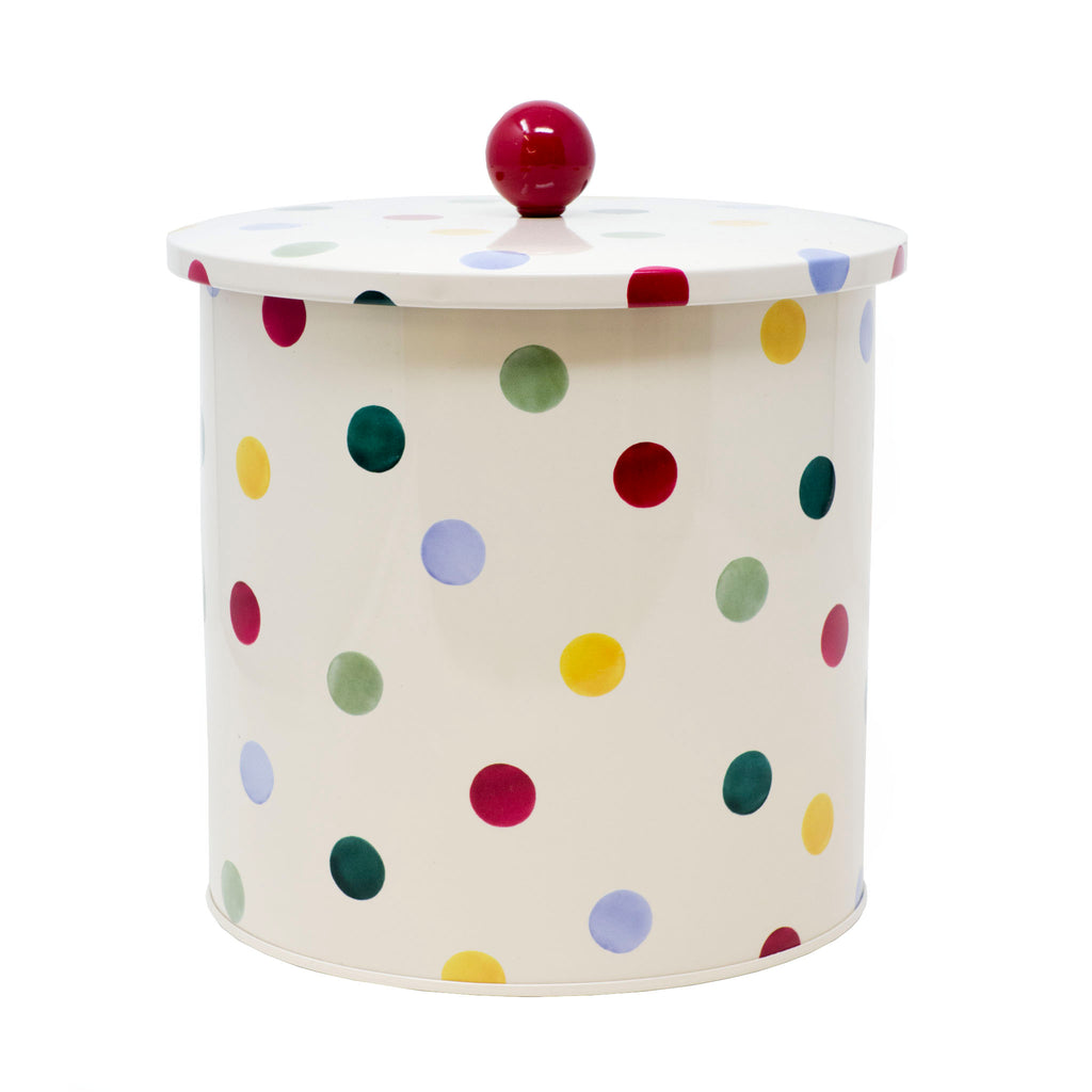 Moores Biscuits - Polka Dot Biscuit Barrel 600g
