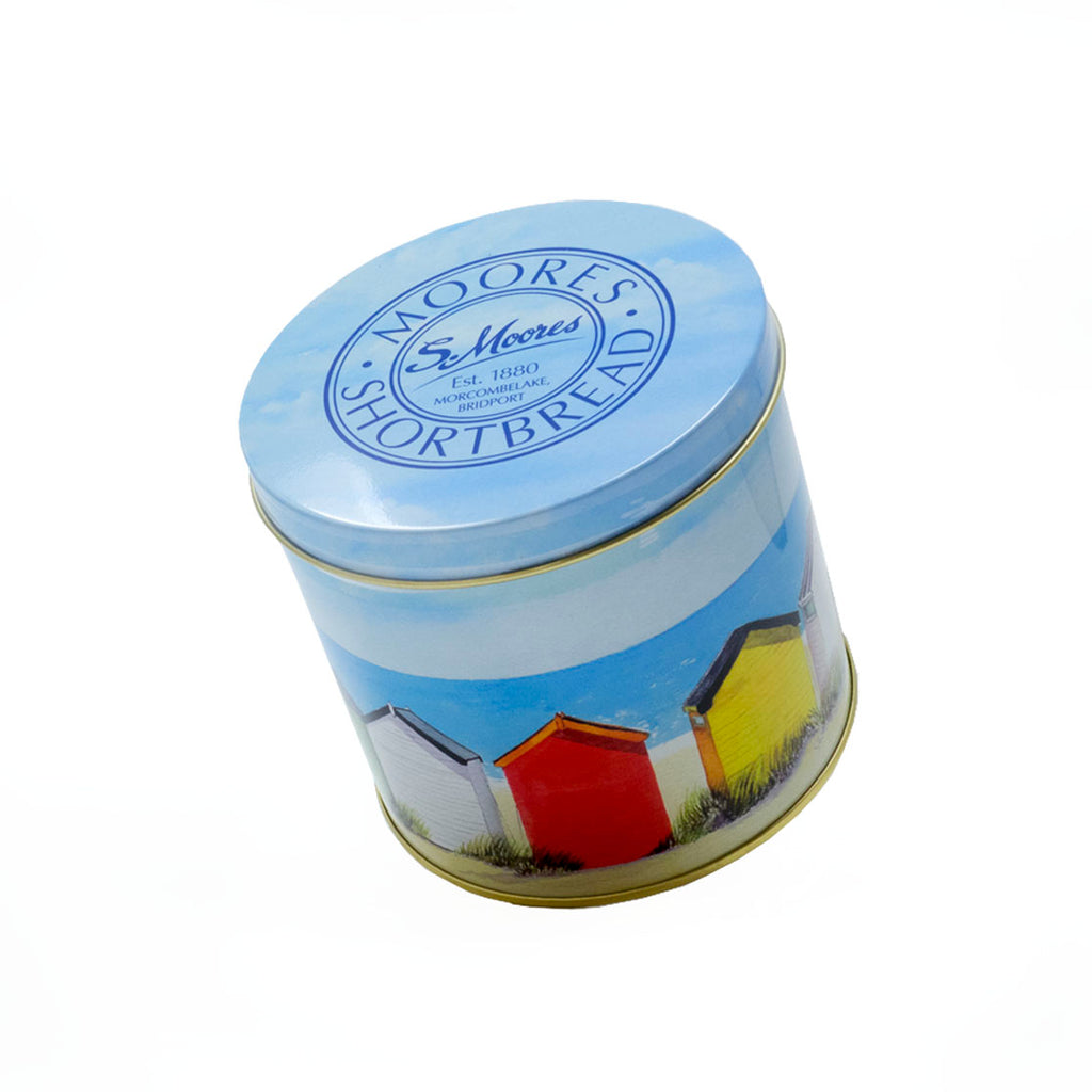 Moores Biscuits - Beach Hut tin Butter Shortbread