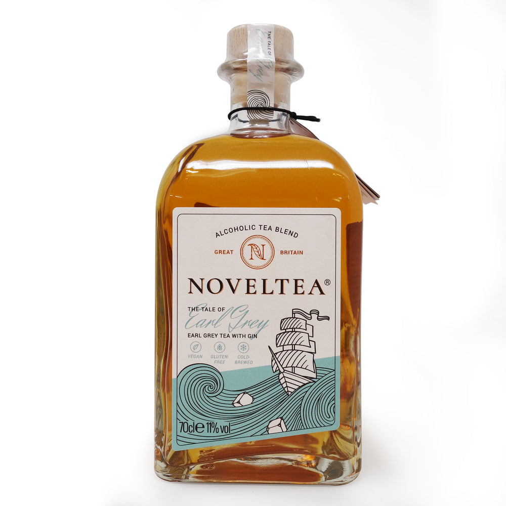 Noveltea - The Tale of Earl Grey, earl grey tea with gin 700ml