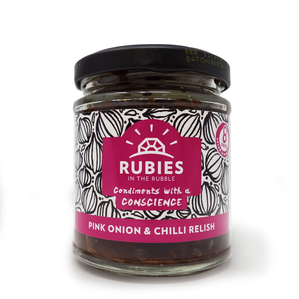 Rubies in the Rubble - Pink Onion & Chilli Relish