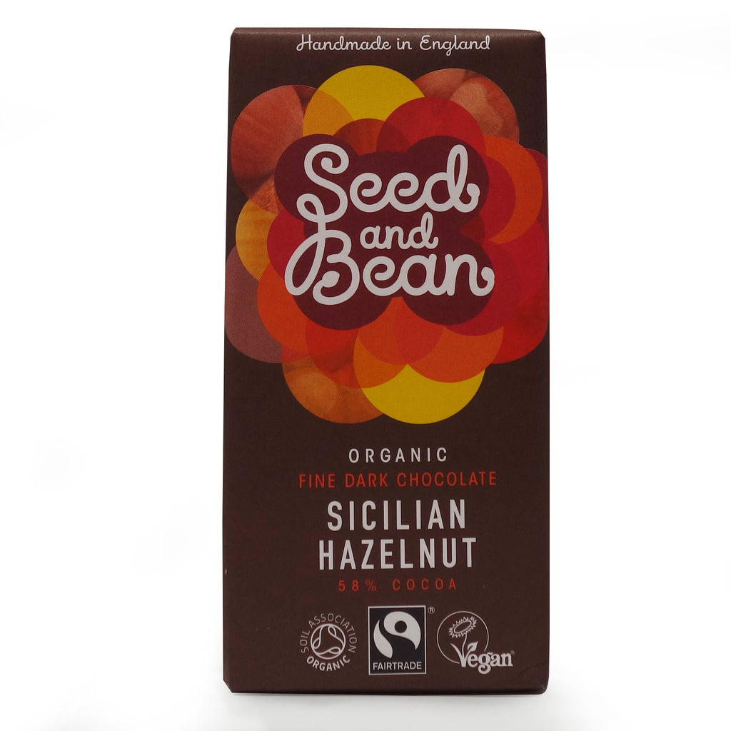 Seed&Bean - Dark Chocolate 58% Ð Sicilian Hazelnut