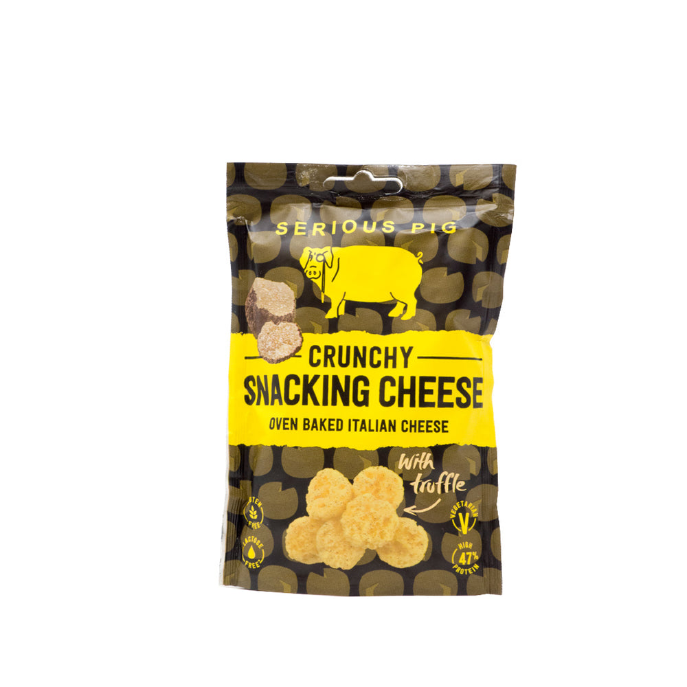 Serious Pig - Crunchy Snacking Cheese with Truffle