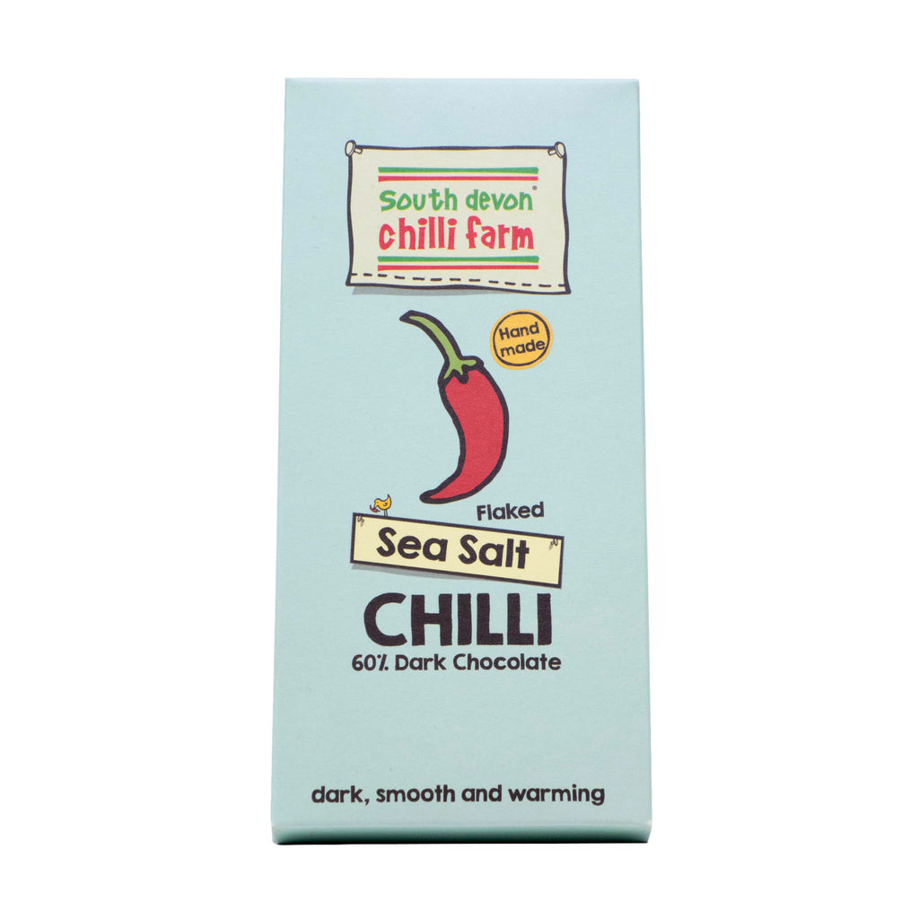 South Devon - Flaked Sea Salt Chilli Chocolate