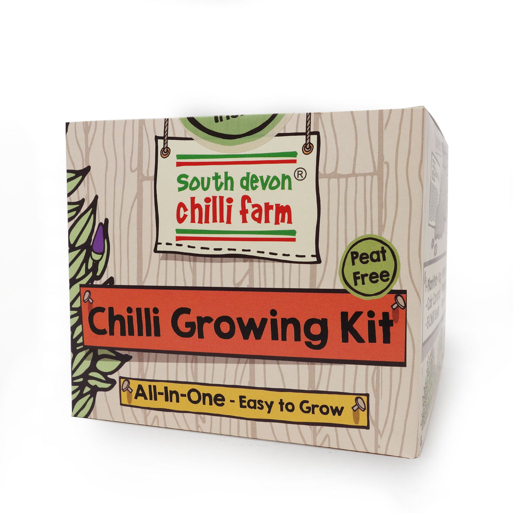 South Devon Co - All In One Chilli Growing Kit