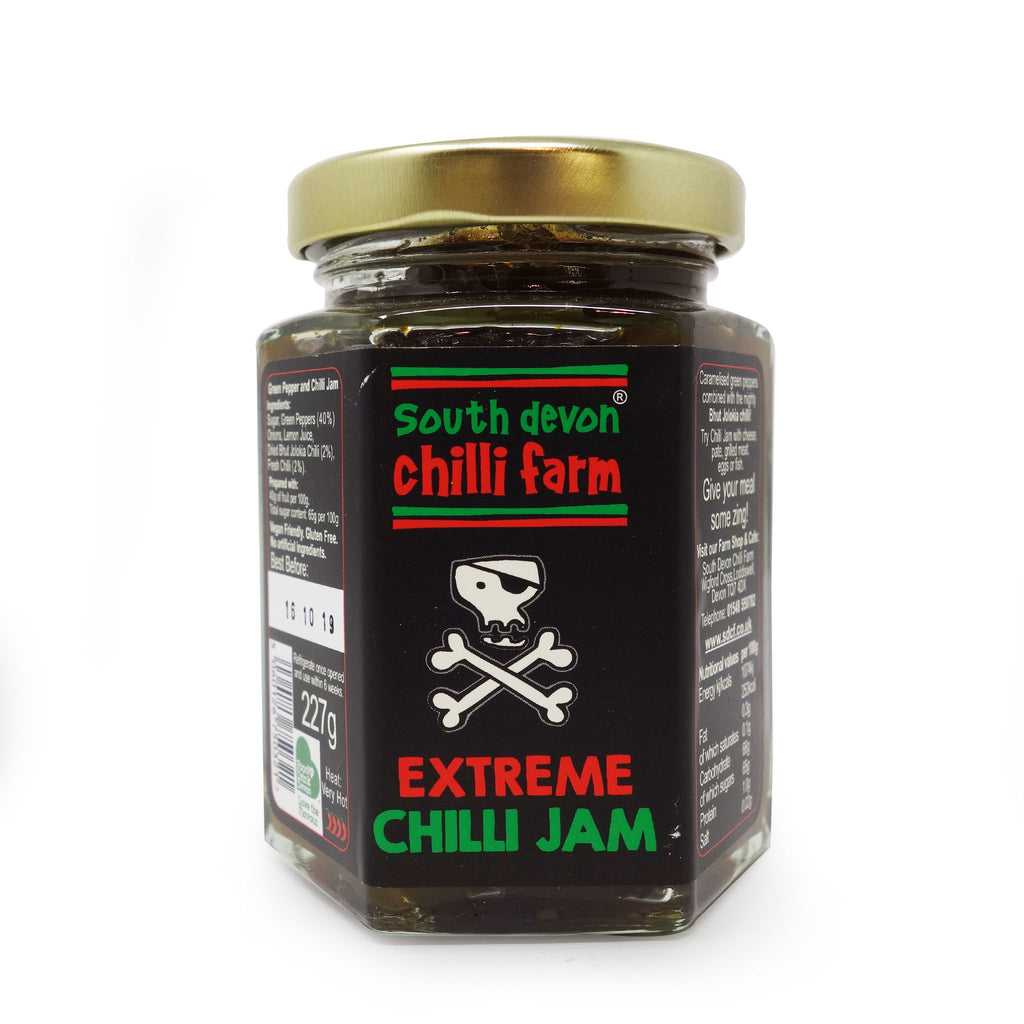 South Devon - Extreme Bhut Jolokia Chilli Jam