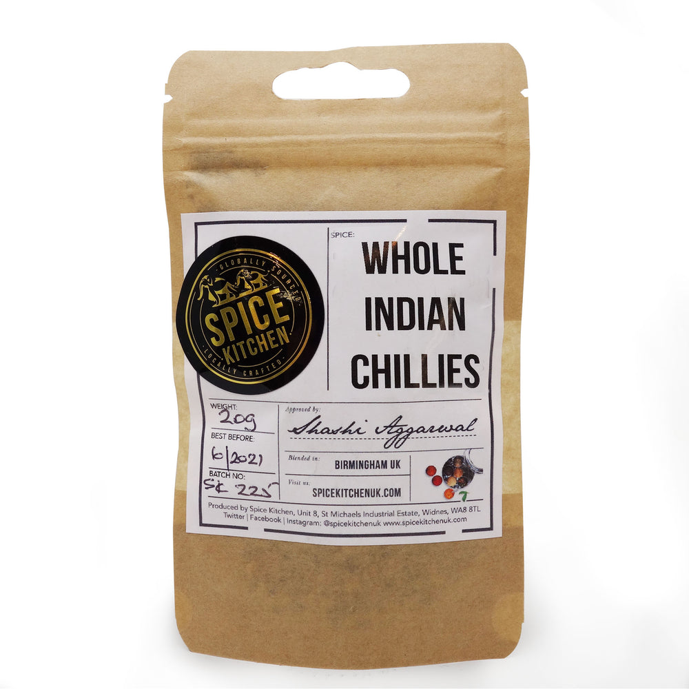 Spice Kitchen - Dried Whole Chillies Pouch