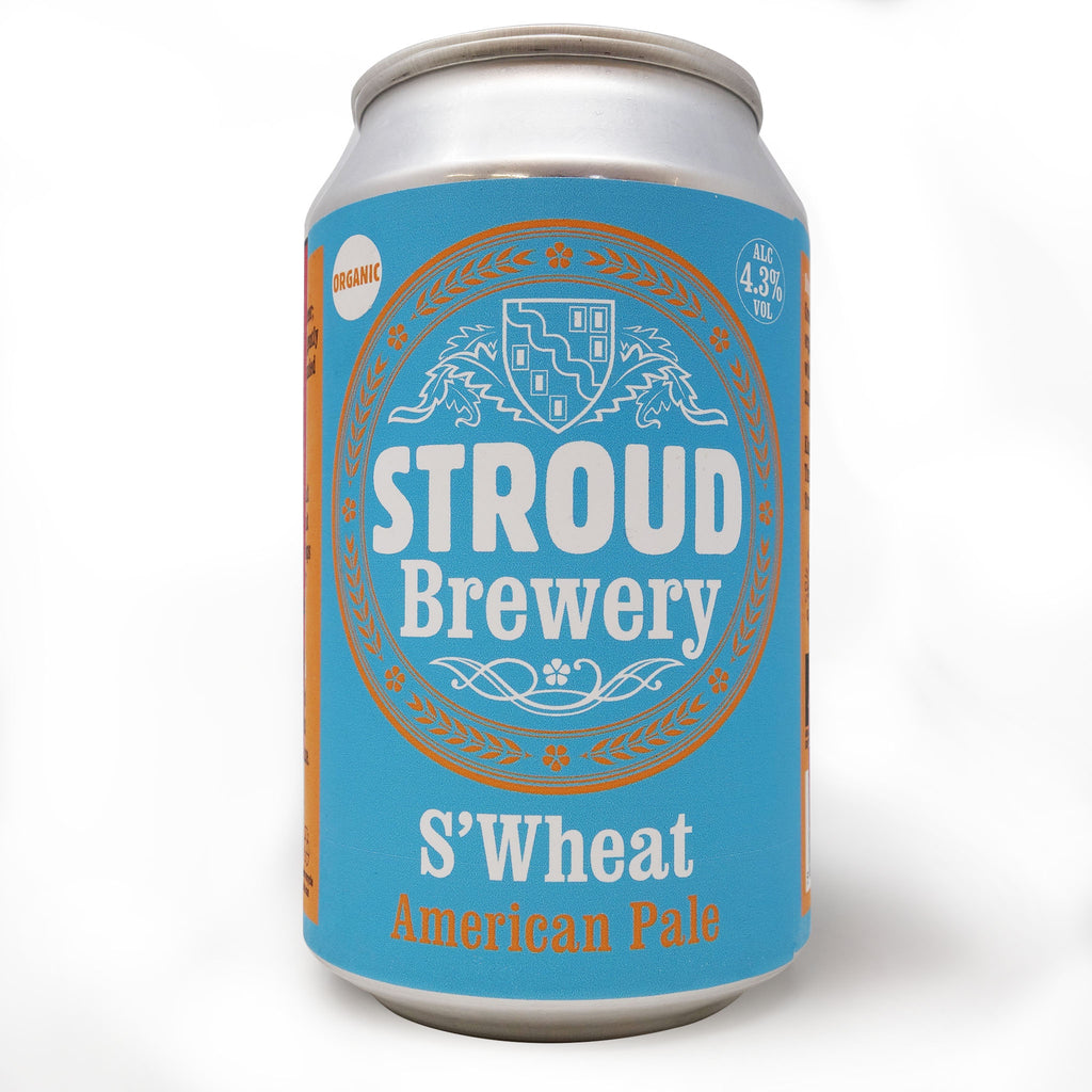 Stroud Brewery - S'Wheat | Organic Pale Ale 330ml Can