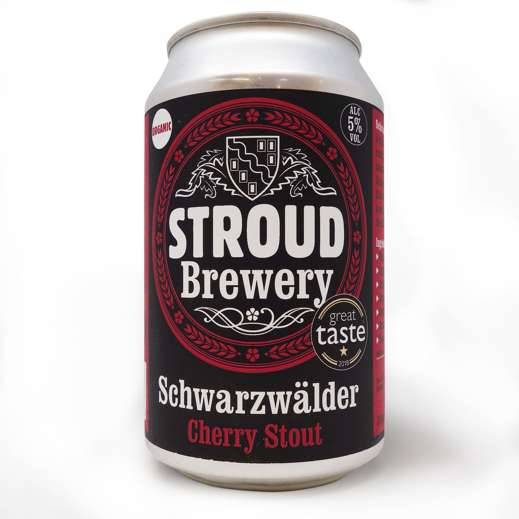 Stroud Brewery - Schwarzwalder | Organic Cherry Stout 330ml Can