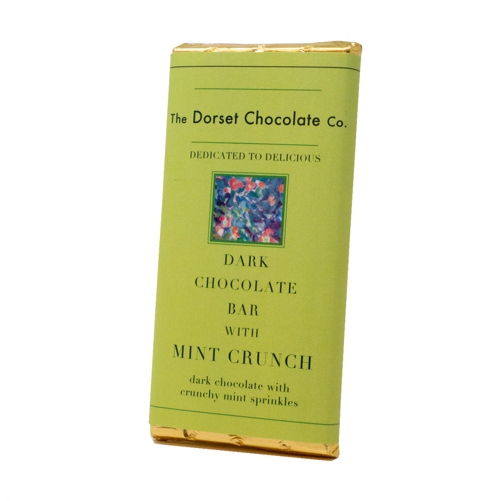 The Dorset Chocolate Co. - Dark Chocolate with Mint crunch Bar