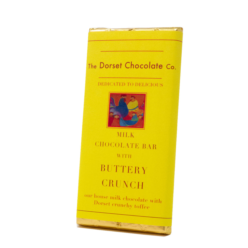 The Dorset Chocolate Co. - Milk Chocolate Bar with Buttery Crunch