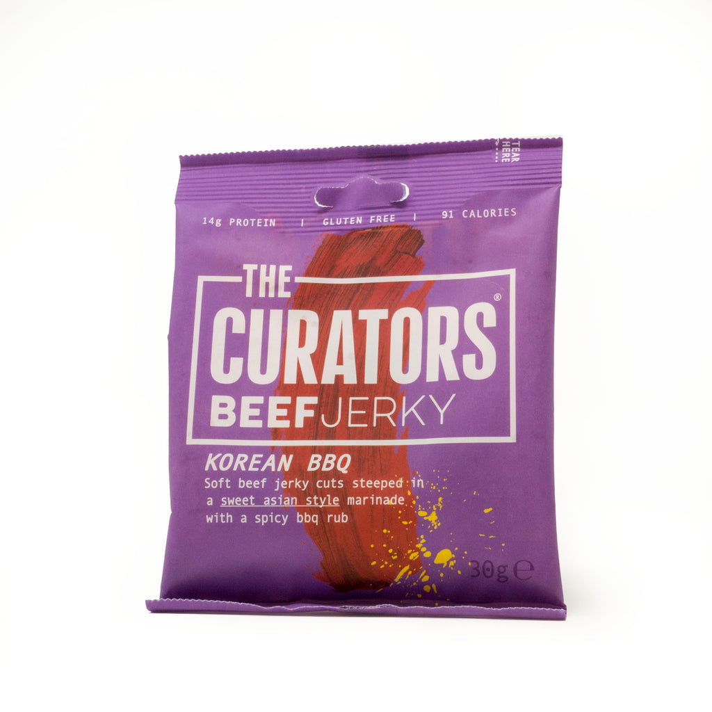 The Curators - Korean BBQ Beef Jerky
