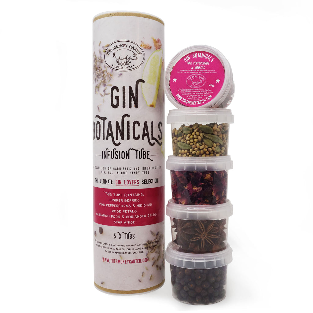 The Smokey Carter - Gin Botanicals