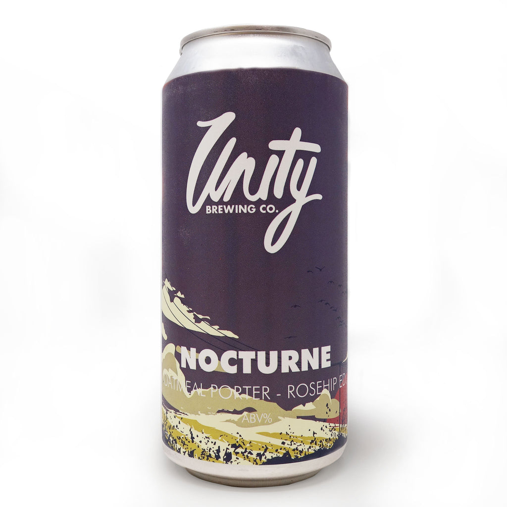 Unity Brewing Co - Nocturne Oatmeal Porter Rosehip Edition 440ml Can