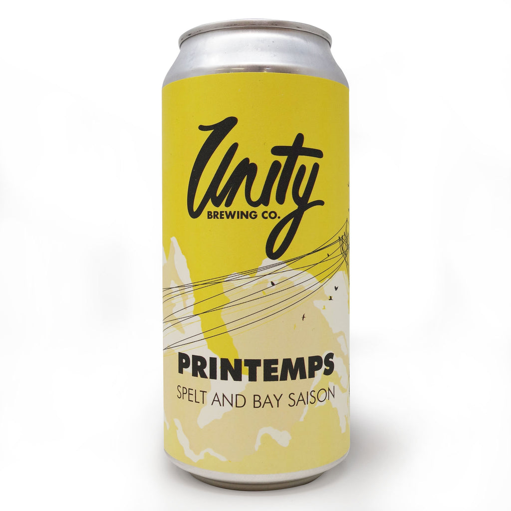 Unity Brewing Co - Printemps Spelt & Bay Saison 440ml Can