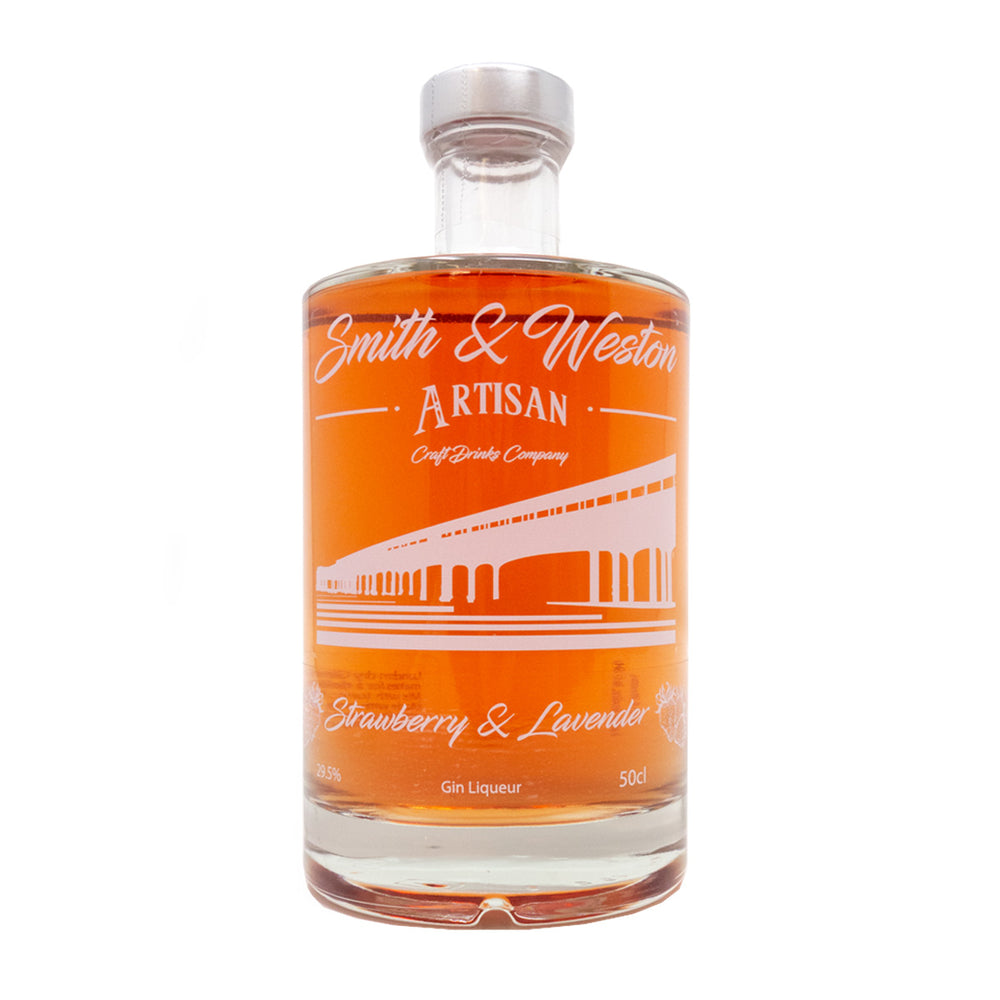 Smith & Weston - Strawberry & Lavender Gin Liqueur