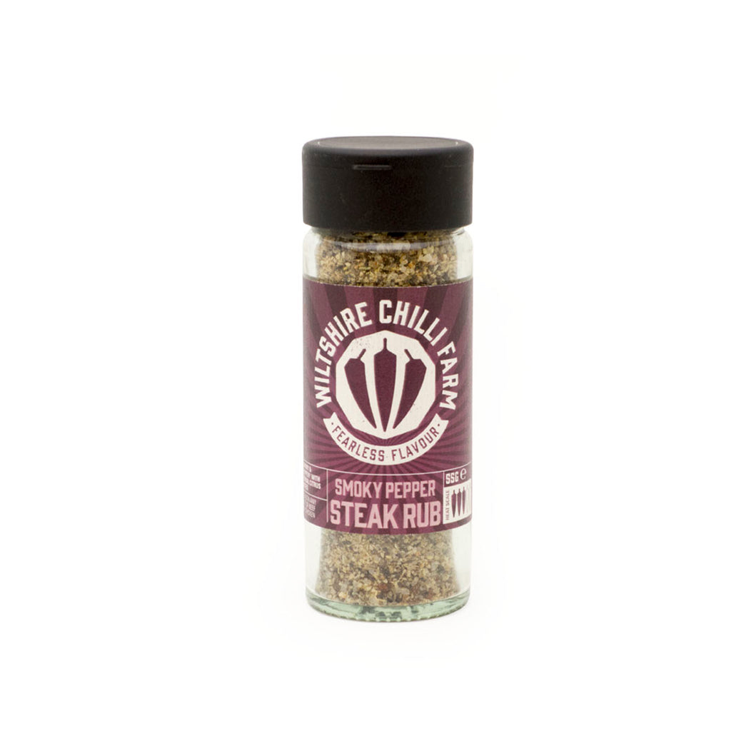Wiltshire Chilli Farm - Smokey Pepper Steak Rub