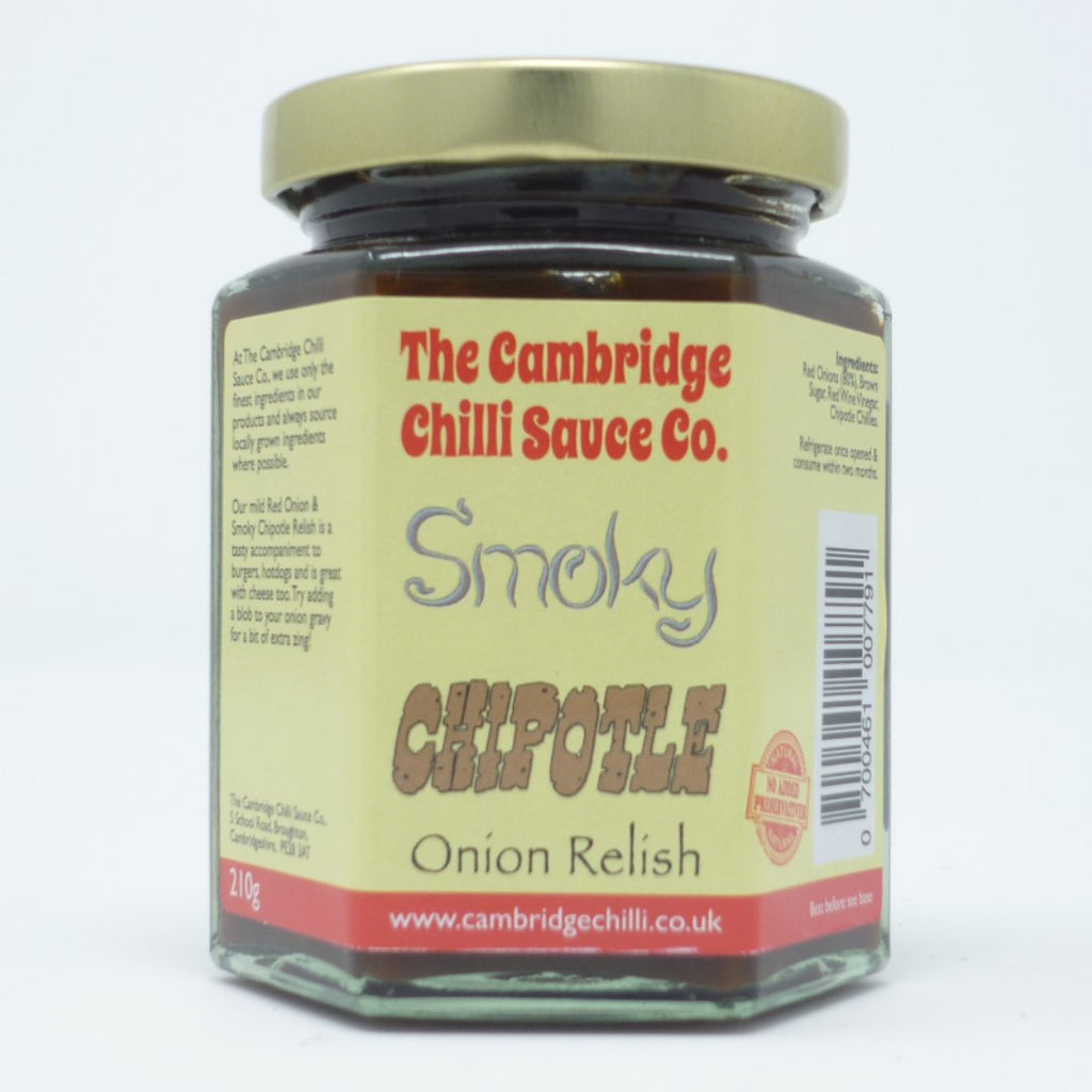 Hot Headz - Red Onon Smokey Chipotle Chilli Relish
