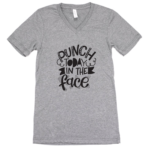 *NEW* Punch Today in the Face Unisex Adult Tee