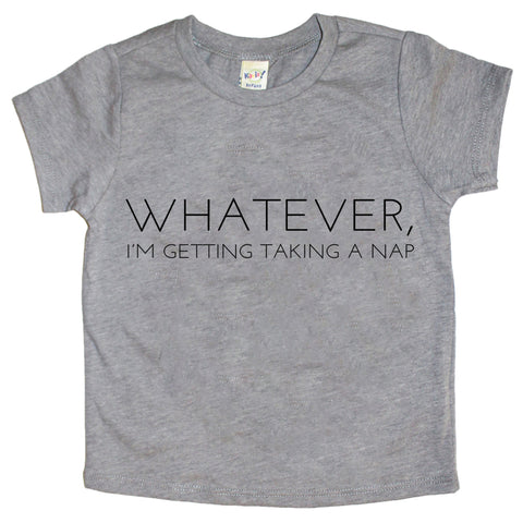 I'm Taking A Nap Infant-Youth Tee