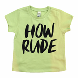 How Rude Infant-Youth Tee
