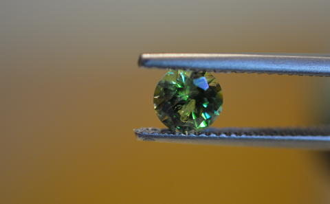 New! 0.88ct Natural Demantoid Garnet Namibia