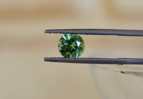 New! 1.8ct Natural Demantoid  Garnet  From Namibia