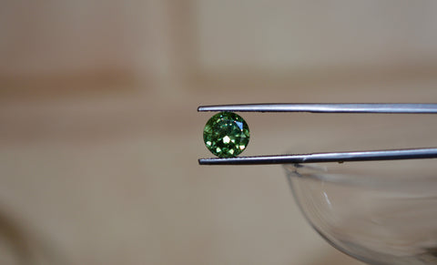 New! 3.12ct Natural Demantoid Garnet Namibia Rare Size
