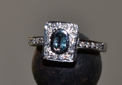 18k Gold Alexandrite Ring