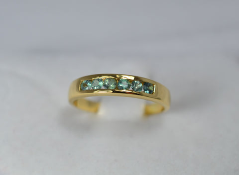 18k Yellow Gold Alexandrite Ring