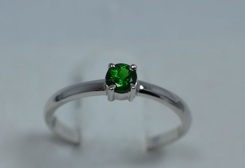 005 Tsavorite Ring 18k